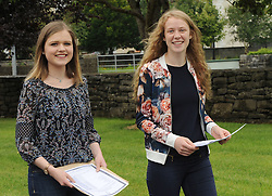 Mayo&rsquo;s brightest amoungs the countries top Leaving Cert&rsquo;s.<br /> Emma Louise Ruane from Mount St Michael School Claremorris and Annie Duffy from Ballinrobe Community School are pictured with their leaving cert exam results. Both Mayo pupils were amoung six across the country that achieved eight A1&rsquo;s.<br /> Pic Conor McKeown