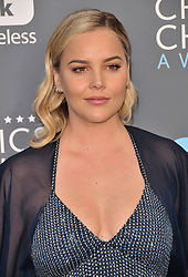 Abbie Cornish at The 23rd Annual Critics' Choice Awards held at the Barker Hangar on January 11, 2018 in Santa Monica, CA, USA (Photo by Sthanlee B. Mirador/Sipa USA)