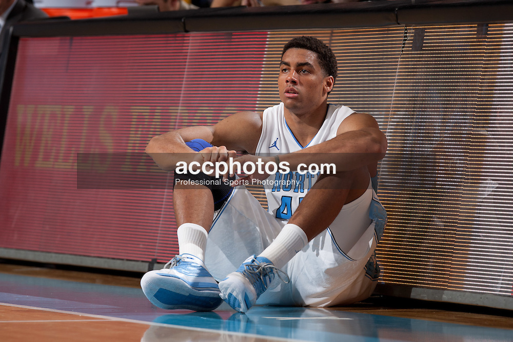 CHAPEL HILL, NC - NOVEMBER 22: James Michael McAdoo #43 of the North Carolina Tar Heels waits to enter the game from the sidelines during a game against the Tennessee State Tigers on November 22, 2011 at the Dean E. Smith Center in Chapel Hill, North Carolina. North Carolina won 102-69. (Photo by Peyton Williams/UNC/Getty Images) *** Local Caption *** James Michael McAdoo