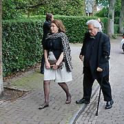 NLD/Blaricum/20110607 - Uitvaart Willem Duys, Han Peekel
