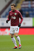 13 Jeff Hendrick for Burnley FC during the Premier League match between Burnley and Fulham at Turf Moor, Burnley, England on 12 January 2019.