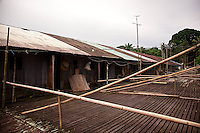 View of Murat Longhouse from the front balcony areas.