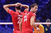 Aleksandar Atanasijevic of Serbia<br /> Torino 29-09-2018 Pala Alpitour <br /> FIVB Volleyball Men's World Championship <br /> Pallavolo Campionati del Mondo Uomini <br /> Semifinal<br /> Brasile - Serbia / Brazil - Serbia<br /> Foto Antonietta Baldassarre / Insidefoto