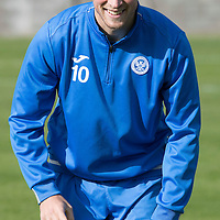 St Johnstone Training….30.09.16<br />David Wotherspoon pictured during training this morning<br />Picture by Graeme Hart.<br />Copyright Perthshire Picture Agency<br />Tel: 01738 623350  Mobile: 07990 594431