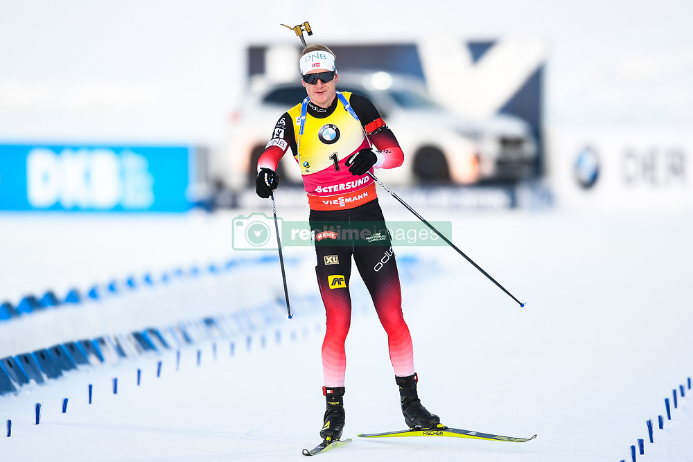 March 10, 2019 - –Stersund, Sweden - 190310 Johannes Thingnes Bö of Norway looks dejected during the Men's 12,5 km Pursuit during the IBU World Championships Biathlon on March 10, 2019 in Östersund..Photo: Petter Arvidson / BILDBYRÃ…N / kod PA / 92255 (Credit Image: © Petter Arvidson/Bildbyran via ZUMA Press)