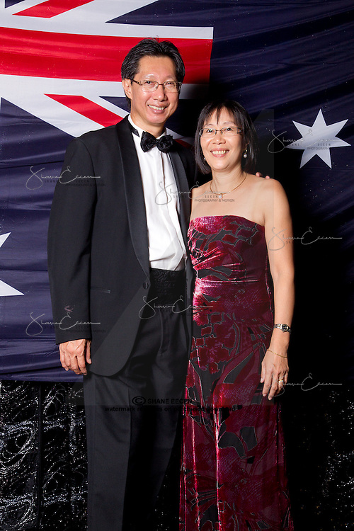 Australia Day Ball 2013. Darwin Convention Centre. Photo Shane Eecen