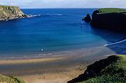 Malinbeg bay near Glencolumbcille (or Glemcolcille)..