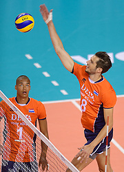 20150614 NED: World League Nederland - Finland, Almere<br /> Bas van Bemmelen