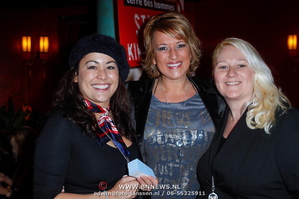 NLD/Amsterdam/20121104 - Presentatie Key Moments, Jet Sol, Sasja Brouwers,Pamela de Jonge