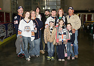 April 2, 2013: The Oklahoma City Barons play the Hamilton Bulldogs in an American Hockey League game at the Cox Convention Center in Oklahoma City.