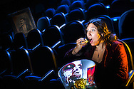 Olivia Mungal, an indie film director, demonstrates the face she hopes her films create for viewers for her portrait at the The Starr Theatre, Friday, November 6, 2015, in Greensboro, N.C.<br /> <br /> JERRY WOLFORD and SCOTT MUTHERSBAUGH / Perfecta Visuals<br /> <br /> She&rsquo;s a marketing manager on the weekdays. But on the weekend end she&rsquo;s Olivia Mungal, indie film director. <br /> &nbsp;<br /> The XX-year-old spends her Saturdays and Sundays filming short movies in and around Greensboro with her friends, who are also members of her production team.<br /> &nbsp;<br /> It&rsquo;s a hobby, and a passion.<br /> &nbsp;<br /> &ldquo;It is something that we have all kind of become addicted to and it&rsquo;s a growing passion for us,&rdquo; she says.<br /> &nbsp;<br /> Each year Olivia and her team participate in the 48-hour film festival, an international film festival competition where they are given 48 hours to write, film and edit a movie.