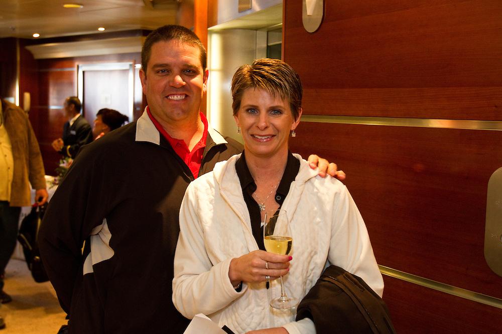 Candid photography of Elkay's Bahamas cruise on Regent Seven Cruises.