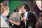 RICHARD WILSON; ANN BEAN; MIKE NELSON, Matt's Gallery 35th birthday fundraising supper.  42-44 Copperfield Road, London E3 4RR. 12 June 2014.