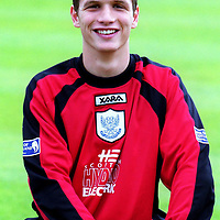 St Johnstone FC 2000/2001 squad pictures. 13.7.2000.<br /><br />Squad member Kevin Cuthbert. <br /><br />Picture Copyright John Lindsay.<br />Perthshire Picture Agency<br />Tel: 01738 623350  Mobile: 07775 852112