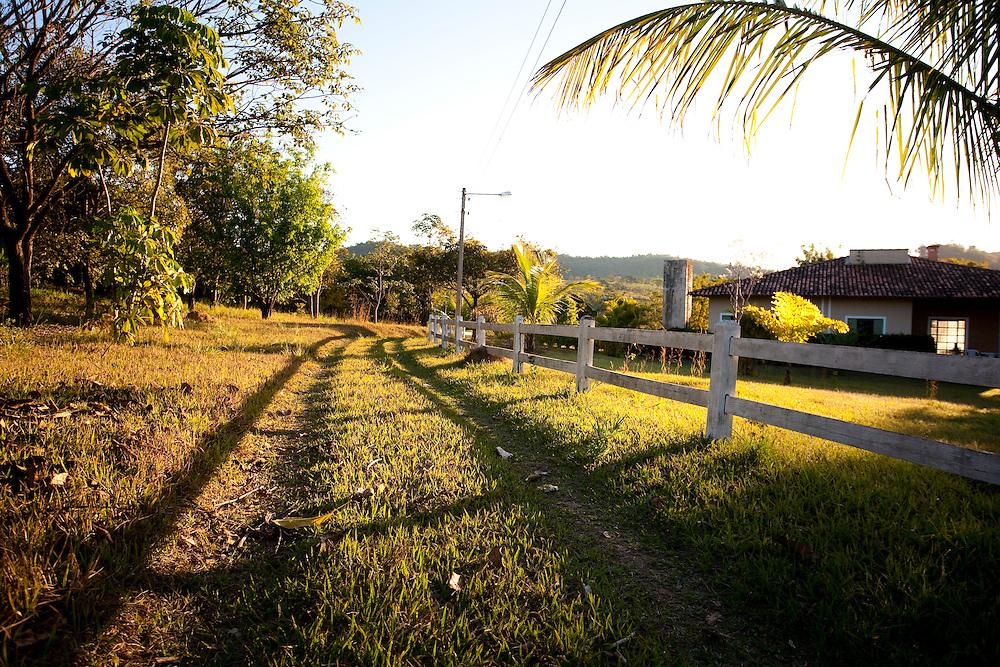 Inhauma_MG, Brasil...Sitio em Inhauma...The house in Inhauma...Foto: LEO DRUMOND / NITRO