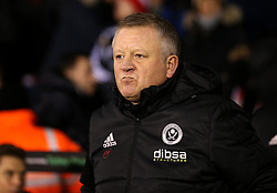 Sheffield United manager Chris Wilder - Mandatory by-line: Robbie Stephenson/JMP - 12/01/2018 - FOOTBALL - Bramall Lane - Sheffield, England - Sheffield United v Sheffield Wednesday - Sky Bet Championship
