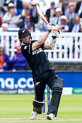 Mitchell Santner of New Zealand - Mandatory by-line: Robbie Stephenson/JMP - 14/07/2019 - CRICKET - Lords - London, England - England v New Zealand - ICC Cricket World Cup 2019 - Final