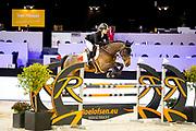 Stephanie Valdes - Thalis de la Roque<br /> Jumping Indoor Maastricht 2018<br /> &copy; DigiShots