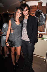 DOUGLAS BOOTH and SIAN SIDAWAY at a party hosted by Links of London in celebration of Cat DeeleyÕs role as global brand ambassador of Links of London and to launch the AW10 campaign held at The Club at The Ivy (The Loft), 9 West Street, WC2 on 16th September 2010.<br /> DOUGLAS BOOTH and SIAN SIDAWAY at a party hosted by Links of London in celebration of Cat Deeley's role as global brand ambassador of Links of London and to launch the AW10 campaign held at The Club at The Ivy (The Loft), 9 West Street, WC2 on 16th September 2010.