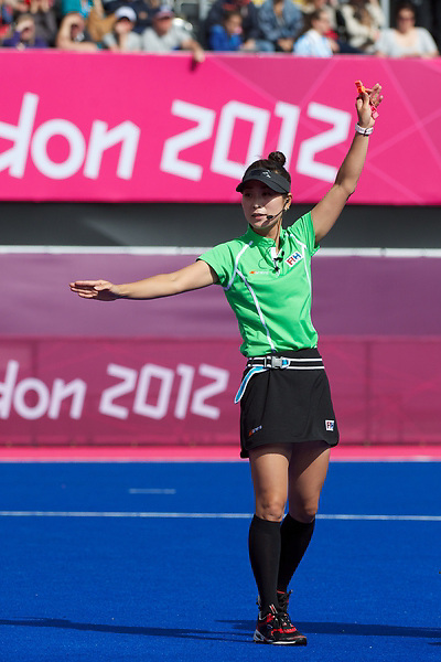 Olympics 2012, hockey, Umpire, Hy Kang