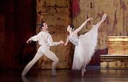 The Birmingham Royal Ballet <br /> Three Short Story Ballets (mixed Bill) <br /> at Birmingham Hippodrome, Birmingham, Great Britain <br /> Rehearsal 21st June 2017 <br /> <br /> Le Baiser de la f&eacute;e <br /> Choreography by Michael Corder<br /> <br /> Music: Igor StravinskyDesigns: John MacfarlaneLighting: Paule Constable<br /> <br /> <br /> <br /> Young Man: <br /> <br /> Mathias Dingman<br /> Bride: <br /> <br /> Miki Mizutani <br /> <br /> <br /> <br /> <br /> <br /> <br /> Photograph by Elliott Franks <br /> Image licensed to Elliott Franks Photography Services