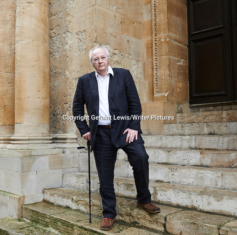 Philip Pullman at The Sheldonian Theatre, The Oxford  Literary Festival<br /> 17th March 2013<br /> <br /> Photograph by Geraint Lewis/Writer Pictures<br /> <br /> <br /> WORLD RIGHTS