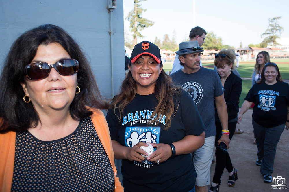 MassMutual Silicon Valley and The Miceli Group host their annual Disability Awareness Night with the San Jose Giants at San Jose Municipal Stadium in San Jose, California, on July 16, 2015. (Stan Olszewski/SOSKIphoto)