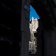 October 4, 2016 - New York, N.Y. : Shepard Hall is seen through an archway at the City College of New York, on Tuesday afternoon, October 4. <br /> CREDIT: Karsten Moran for The New York Times