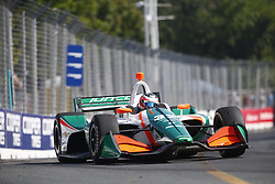 July 15, 2018 - Toronto, Ontario, Canada - RENE BINDER. (32) of Austria battles for position during the Honda Indy Toronto at Streets of Toronto in Toronto, Ontario. (Credit Image: © Justin R. Noe Asp Inc/ASP via ZUMA Wire)