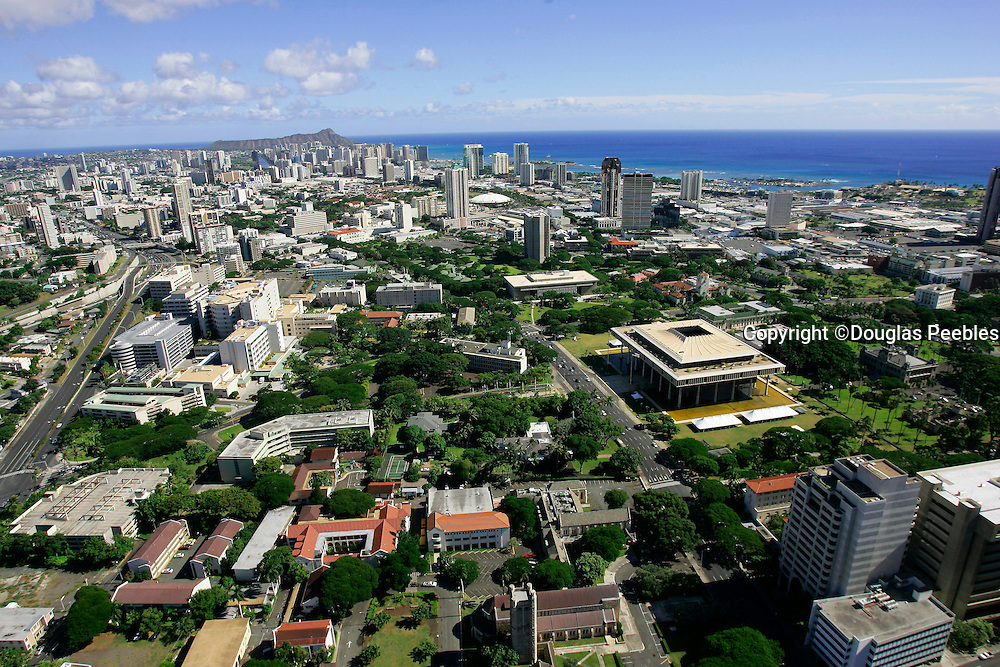 Capitol Building, Honolulu, Oahu, Hawaii
