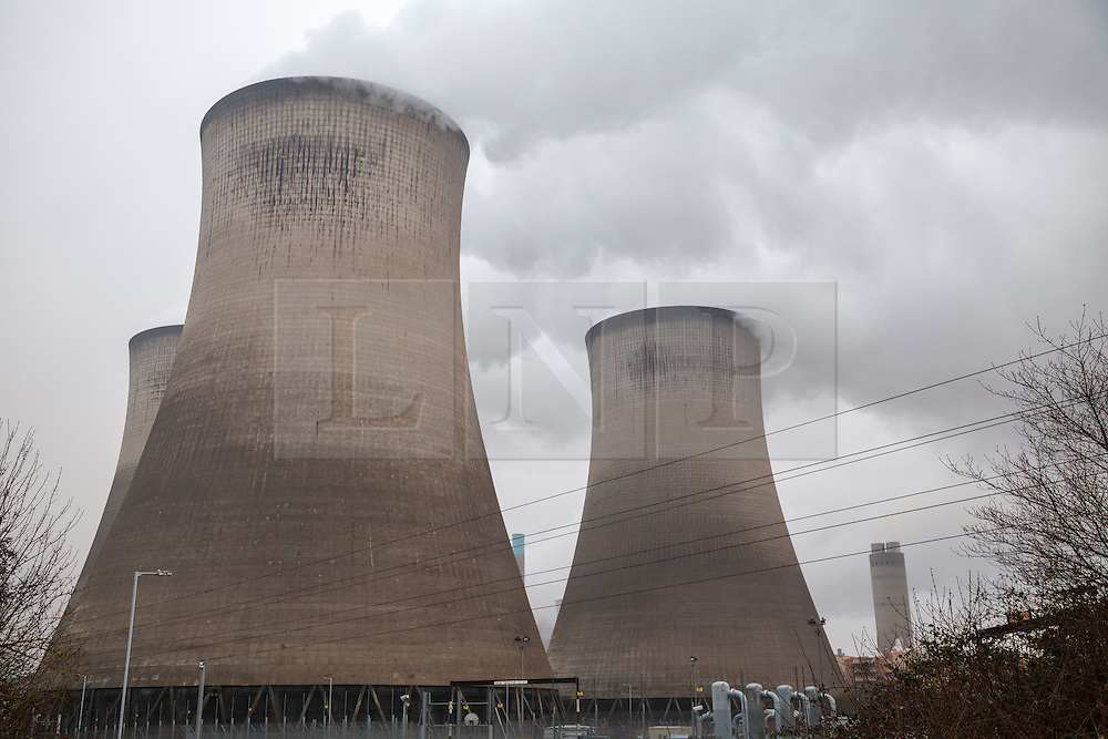 © Licensed to London News Pictures. 22nd March 2013. Didcot Oxfordshire. Didcot Power Station A is switched off today. The coal fired 2000MW power station supped electricity to the National grid for the past 43 years. Photo credit : Rob Arnold/LNP