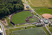 AstroTurf Baseball field aerial Image at Harford Community College in Maryland  by Jeffrey Sauers of Commercial Photographics, Architectural Photo Artistry in Washington DC, Virginia to Florida and PA to New England