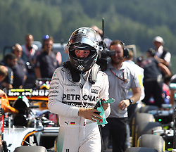 22.08.2015, Circuit de Spa, Francorchamps, BEL, FIA, Formel 1, Grand Prix von Belgien, Qualifying, im Bild Nico Rosberg (Mercedes AMG Petronas Formula One Team) // during the Qualifying of Belgian Formula One Grand Prix at the Circuit de Spa in Francorchamps, Belgium on 2015/08/22. EXPA Pictures © 2015, PhotoCredit: EXPA/ Eibner-Pressefoto/ Bermel<br /> <br /> *****ATTENTION - OUT of GER*****