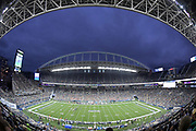 Aug 8, 2019; Seattle, WA, USA; General overall view of an NFL game between the Denver Broncos and the Seattle Seahawks at CenturyLink Field. The Seahawks defeated the Broncos 22-14.