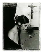 &quot;Surfer Rosa #3&quot; (1988/2005). February List Price &pound;1800* GBP.<br /> The negative was shot in 1988 on Polaroid Type 55 and and hand-printed by me, the photographer, in 2005, on 12&quot; x 16&quot; (30.48cm x 40.64cm) Ilford Warmtone Multigrade fibre paper. The print is a split-selenium toned silver gelatin print, that has been processed using archival methods. Each print is stamped, titled, numbered, dated and signed by myself, on the verso. Each print comes with a certificate of authenticity. Please email me at info@simon-larbalestier.co.uk for prices, availability and shipping info. All prints are shipped from the United Kingdom. Each print is carefully packaged in an archival polyester sleeve and packed flat between several sheets of archival framing board.  *Stated price does not include shipping.