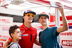 Tim Gajser #243 of Slovenia during MXGP Trentino, round 5 for MXGP Championship in Pietramurata, Italy on 16th of April, 2017 in Italy. Photo by Grega Valancic / Sportida
