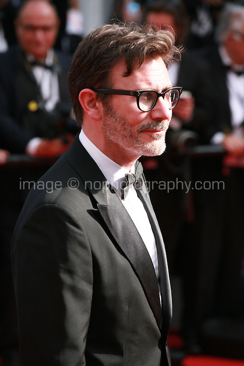 Michel Hazanavicius at the Saint-laurent gala screening red carpet at the 67th Cannes Film Festival France. Saturday 17th May 2014 in Cannes Film Festival, France.