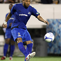Pittsburgh defender Kyle Veris (3) during a United Soccer League Pro soccer match between the Pittsburgh Riverhounds and the Orlando City Lions at the Florida Citrus Bowl on May 14, 2011 in Orlando, Florida. Orlando won the game 1-0. (AP Photo/Alex Menendez)