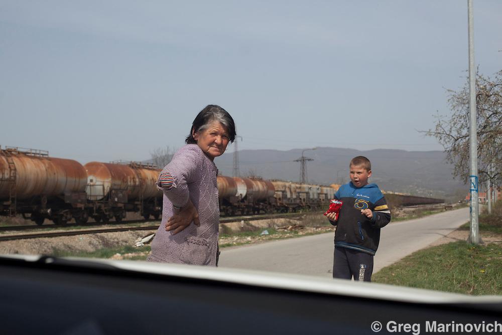 Zvornik, Bosnia and Herzegovina, Republika Srpska, Serbian displacee collective centre.  April 4, 2012. Greg Marinovich