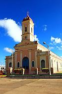Church in Consolacion del Sur, Pinar del Rio, Cuba.