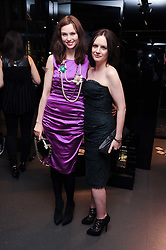 Left to right, EILIDH MacASKILL and SOPHIE ELLIS-BEXTOR at a party hosted by InStyle to celebrate the iconic glamour of Dolce & Gabbana held at D&G, 6 Old Bond Street, London on 3rd November 2010.