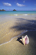 Lanikai Beach, Mokumanu Islands, Oahu, Hawaii<br />