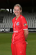 Lancashire Thunders Natalie Brown during the media day for Lancashire Thunder at the Emirates, Old Trafford, Manchester, United Kingdom on 17 July 2018. Picture by George Franks.