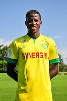 Papy Mison DJILOBODJI - 15.09.2014 - Photo officielle Nantes - Ligue 1 2014/2015<br /> Photo : Philippe Le Brech / Icon Sport