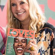 NLD/Amsterdam/20190916 - Lancerings lunch LINDA Loves, Linda de Mol en haar nieuwe magazine Linda Loves