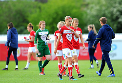 Bristol City Women show a look of ejection after he final whistle - Mandatory by-line: Nizaam Jones/JMP - 28/04/2019 - FOOTBALL - Stoke Gifford Stadium - Bristol, England - Bristol City Women v West Ham United Women - FA Women's Super League 1