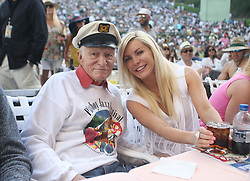 September 27, 2017 - FILE - HUGH MARSTON HEFNER (born: April 9, 1926 died: September 27, 2017) was an American men's lifestyle magazine publisher, businessman, and playboy. A multi-millionaire, his net worth at the time of his death was over $43 million due to his success as the founder of Playboy. Hefner was also a political activist and philanthropist active in several causes and public issues. Pictured: September 27, 2017 - FILE - HUGH MARSTON HEFNER (born: April 9, 1926 died: September 27, 2017) was an American men's lifestyle magazine publisher, businessman, and playboy. A multi-millionaire, his net worth at the time of his death was over $43 million due to his success as the founder of Playboy. Hefner was also a political activist and philanthropist active in several causes and public issues. Pictured: October 13, 2015 - File - The decision, taken by Playboy founder and current editor-in-chief Hugh Hefner, 89, came during a meeting last month. The mag, which first published in 1953, will still feature pictures of women in 'provocative poses' but will abandon the publication of totally nude, pornographic images. Since the advent of the Internet, such photographs are no longer commercially viable. Pictured: Jun 15, 2013 - Hollywood, California, U.S. - Hugh Hefner and his wife Crystal Hefner could be found in their usual seats in the front row of the Hollywood Bowl for Saturday's Playboy Jazz Festival. (Credit Image: © Armando Brown/The Orange County Register/ZUMAPRESS.com)