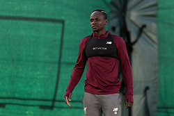 LIVERPOOL, ENGLAND - Monday, February 18, 2019: Liverpool's Sadio Mane during a training session at Melwood ahead of the UEFA Champions League Round of 16 1st Leg match between Liverpool FC and FC Bayern München. (Pic by Paul Greenwood/Propaganda)