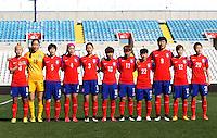 Fifa Womans World Cup Canada 2015 - Preview //<br /> Cyprus Cup 2015 Tournament ( Gsp Stadium Nicosia - Cyprus ) - <br /> South Korea vs Italy 1-2 , South Korea Team Group - From the Left :<br /> Cho Sohyun ,Kim Jungmi ,Kim Doyeon ,Shim Seoyeon ,Song Suran ,Ji Soyun ,Jung Seolbin ,Lee Sodam ,Park Eunseon ,Yoo Younga ,Kim Hyeri