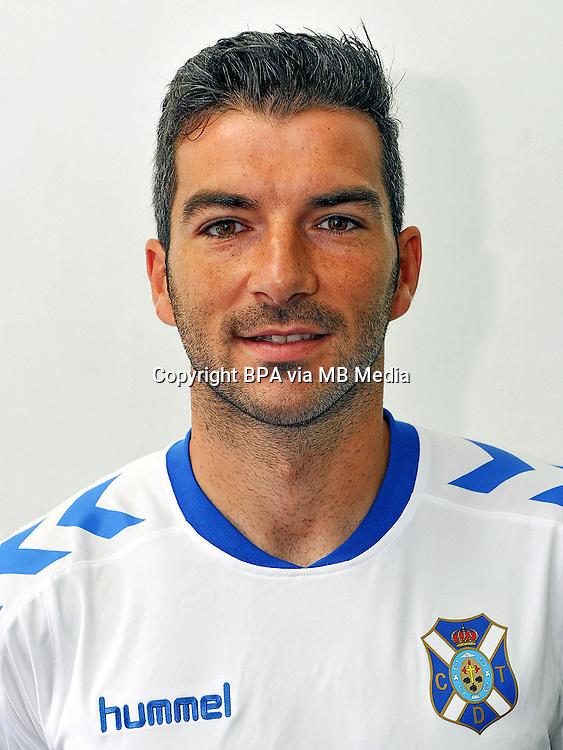 Spain - La Liga B 123 _ 2016-2017 / <br /> ( Club Deportivo Tenerife ) - <br /> Inaki Saenz Arenzana &quot; Inaki Saenz &quot;